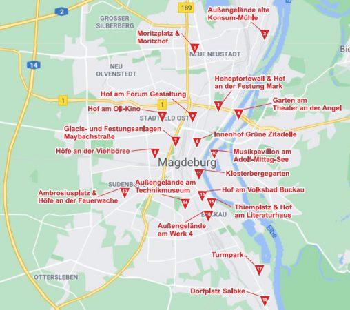 Spielorte Stadtplan 20.04.2021